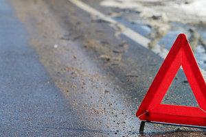 На Бориспольской трассе сбит пешеход-нарушитель