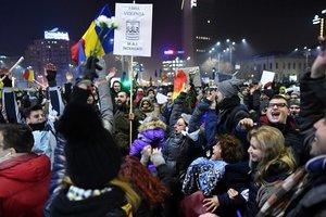 В Румынии продолжаются протесты, на улицы вышли 140 тысяч человек