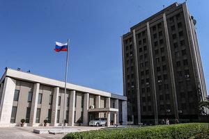 В Сирии из минометов обстреляли российское посольство