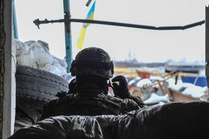 Обстрелы позиций украинских военных возле Авдеевки продолжаются