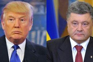 Белый дом сообщил о предстоящем телефонном разговоре Трампа и Порошенко