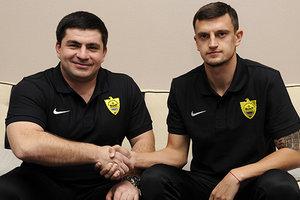 Украинец Белый подписал контракт с российским клубом