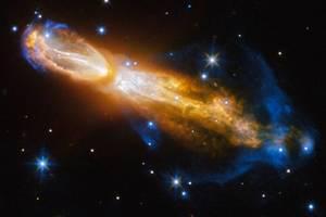 """В NASA показали бриллиантовую """"звездную смерть"""""""