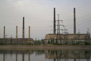 Славянская ТЭС из-за блокады перешла в аварийный режим