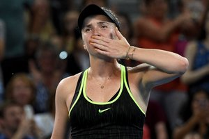Лучшая украинская теннисистка Свитолина в Тайване получила огромную валентинку (фото)