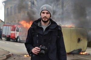 Ранение британского журналиста на Донбассе: новые подробности