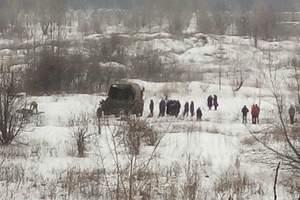 В Макеевке боевики спрятались за спинами детей
