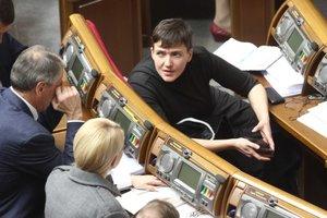 Савченко рассказала, как относится к Тимошенко