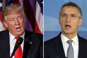 Трамп обсудил с генсеком НАТО варианты решения конфликта на Донбассе