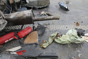 В Киеве и под городом массово разбиваются авто из-за плохой погоды
