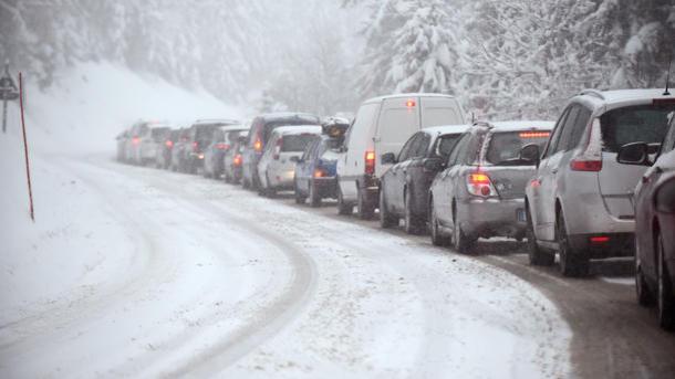 ВЧеркасской обл. из-за непогоды ограничили движение крупногабаритного транспорта