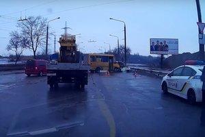 Смертельное ДТП в Запорожье: столкнулись маршрутка и легковушка
