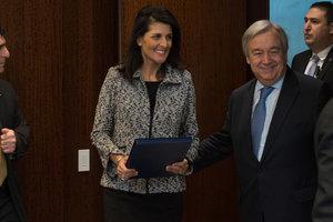 Заявление Никки Хейли по Украине на Совбезе ООН стало неожиданностью для РФ - Ельченко