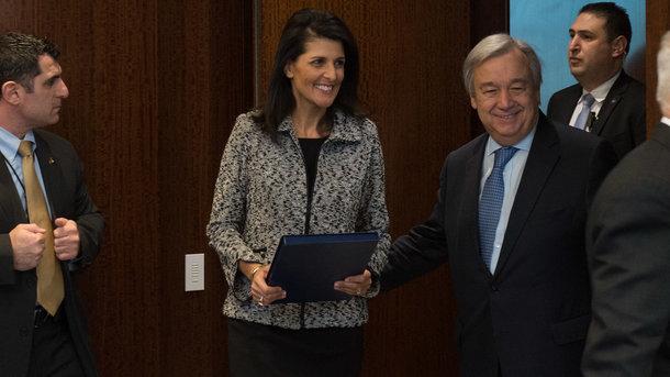 Битва заКрым продолжается вмеждународной Организации Объединенных Наций