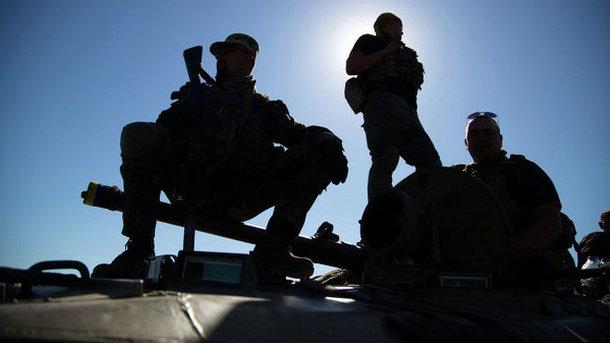 Вражеский снайпер обстрелял офицеров украинской стороны СЦКК— штаб АТО