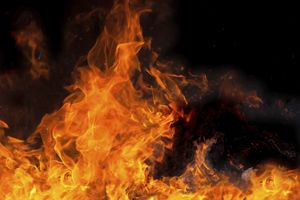 На пожаре в Дружковке погиб трехлетний ребенок