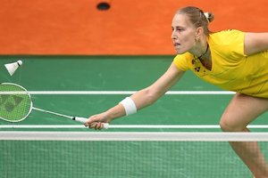 Участница Олимпиады-2016 Мария Улитина выиграла чемпионат Украины по бадминтону