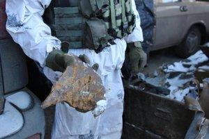 72-я бригада показала результаты обстрелов украинских позиций под Авдеевкой