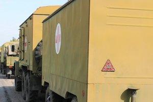 Мобильный госпиталь появился у военных под Волновахой