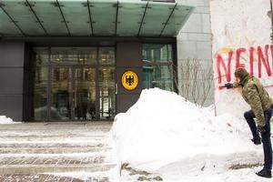 """В МИД Германии ответили на """"акцию протеста"""" Гончаренко под посольством ФРГ в Киеве"""