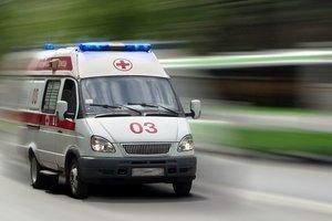 В Днепре водитель маршрутки умер посреди Центрального моста