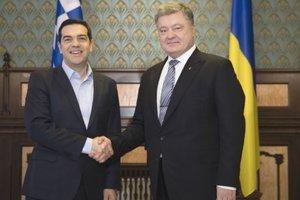 Порошенко встретился с премьером Греции