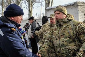 "Турчинов и глава МИД Литвы обсудили ситуацию на Донбассе и ""безвиз"""