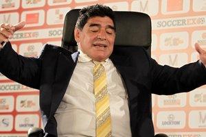 Легенда футбола Марадона будет работать в ФИФА