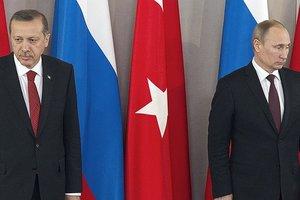 Путин обсудил с Эрдоганом авиаудар российских ВКС по турецким военным в Сирии