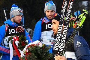 Фуркад покинул церемонию награждения на ЧМ из-за российских биатлонистов