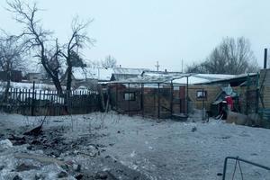 В Авдеевке в результате обстрела боевиками ранены двое мирных жителей