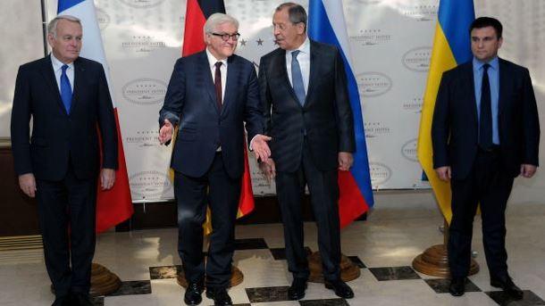 МИД России готовится к встрече в «нормандском формате»