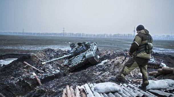 Украинские позиции обстреляли 61 раз— Штаб АТО