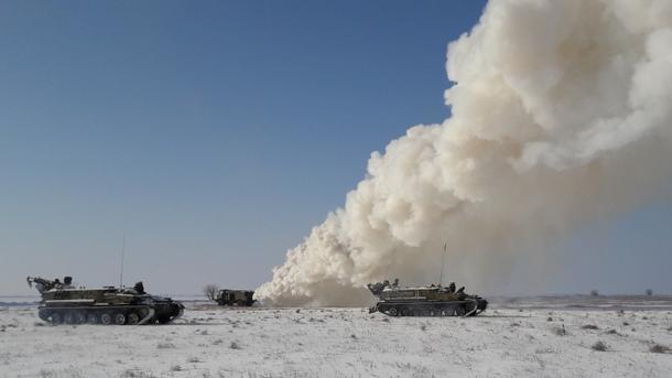 ВКрыму стрельбы ВСУ вблизи границы назвали «игрой ввойнушки»