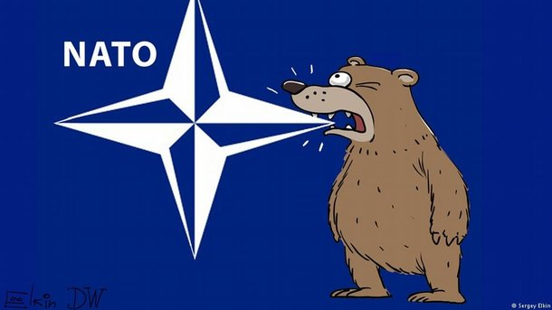 Украинцы снова видят вНАТО угрозу, ноне защиту