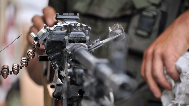 Террористы обстреляли контрольный пост Марьинка взоне АТО