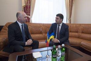 Украина хочет запустить совместный контроль на границе с Молдовой – Гройсман