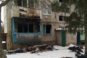 В Харьковской области из-за пожара эвакуировали жителей пятиэтажки