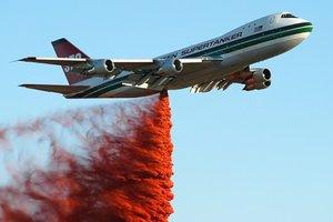 Как выглядит самый большой пожарный самолет в мире