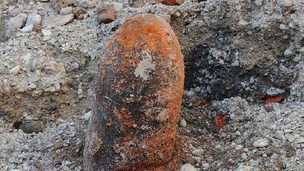 ВоФранкфурте-на-Майне обнаружили бомбу времен 2-ой  мировой войны