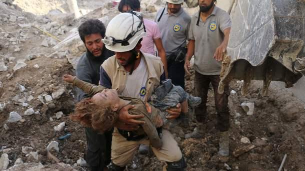 HRW обвинила режим Асада в 8-ми случаях использования химоружия вАлеппо