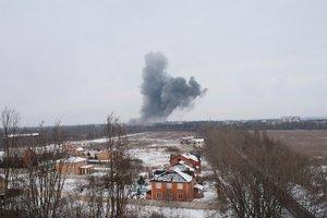 Боевики показали огромные разрушения на месте взрыва в Донецке