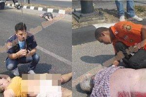 Семейная пара из Германии погибла под колесами автомобиля в Гонконге