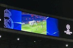 """Перед матчем """"Реал"""" - """"Наполи"""" на стадионе в Мадриде посмеялись над """"Барселоной"""""""