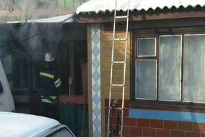 Смертельный пожар в Черкасской области: погибли мать и сын