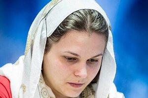 Анна Музычук вышла в третий раунд чемпионата мира по шахматам