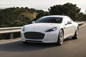 В Украине заметили редчайший Aston Martin