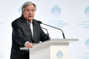 """Генсек ООН не видит альтернативы формуле """"два государства"""" в урегулировании на Ближнем Востоке"""