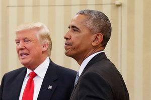 Трамп: Я унаследовал от Обамы бардак