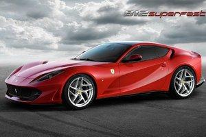 Ferrari представила свой самый мощный автомобиль